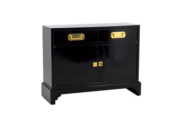 black lacquered buffets one