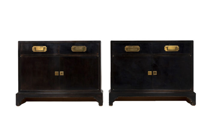 chinese style black lacquered buffets