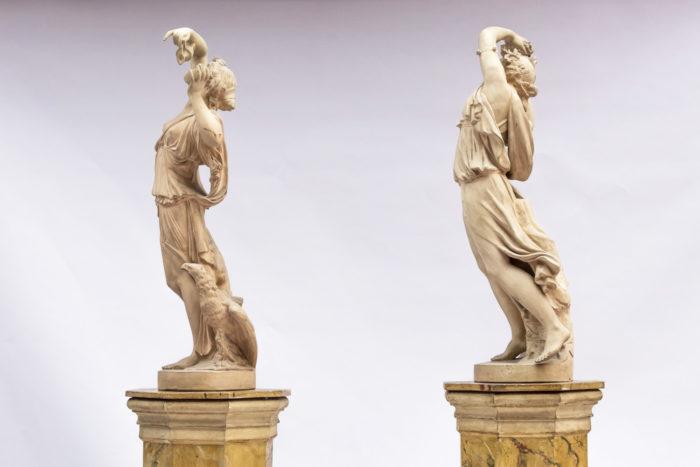 paire sculptures céramique côté 2