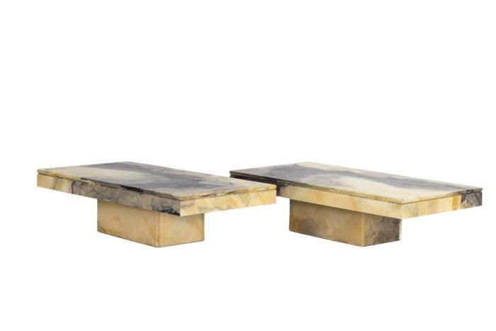 paire tables marbre prcpl