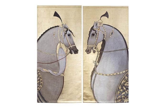paire toiles chevaux prcpl