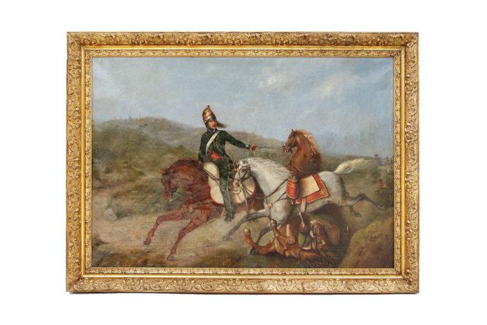 peinture militaire fond blanc pcpl