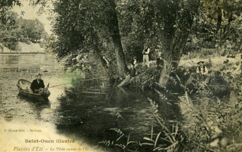 saint-ouen bord de l'ile pêche