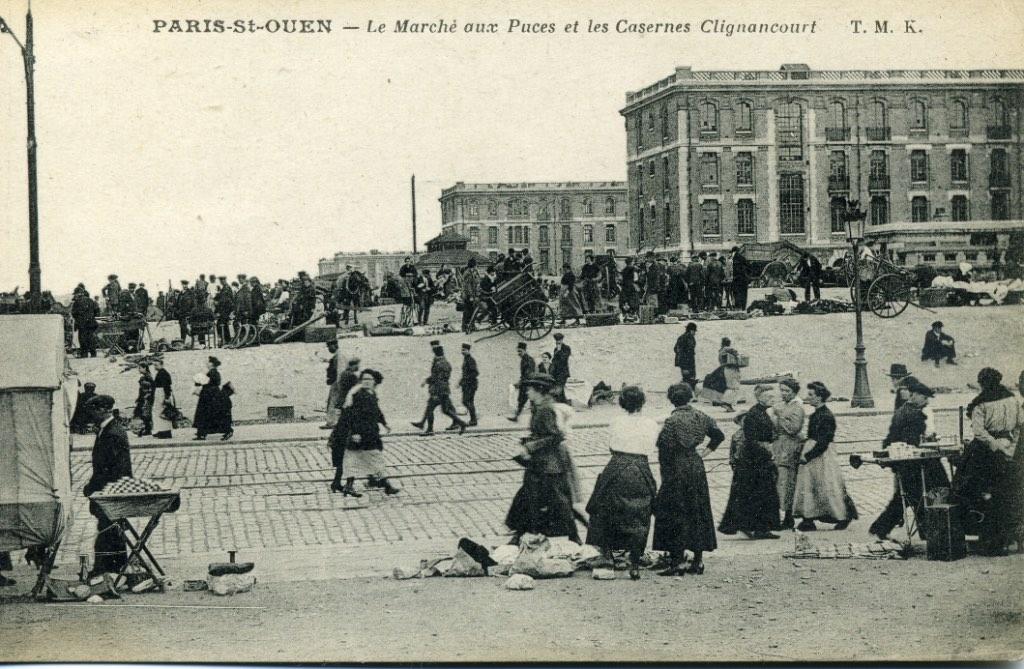 saint ouen clignancourt casernes zone militaire