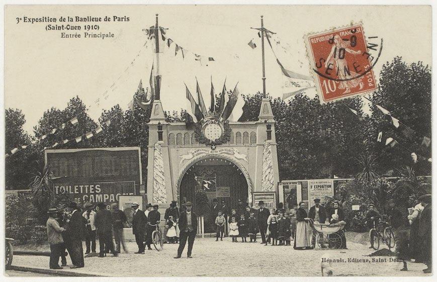 saint ouen exposition banlieue de paris entrée