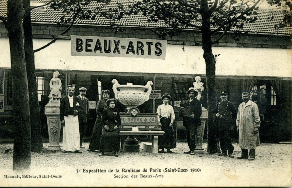 saint ouen exposition banlieue de paris