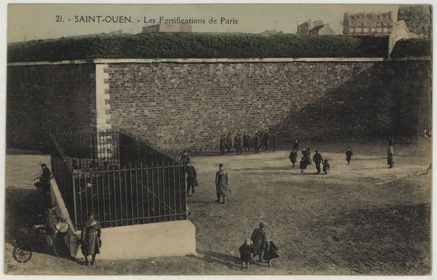 saint-ouen fortifications paris
