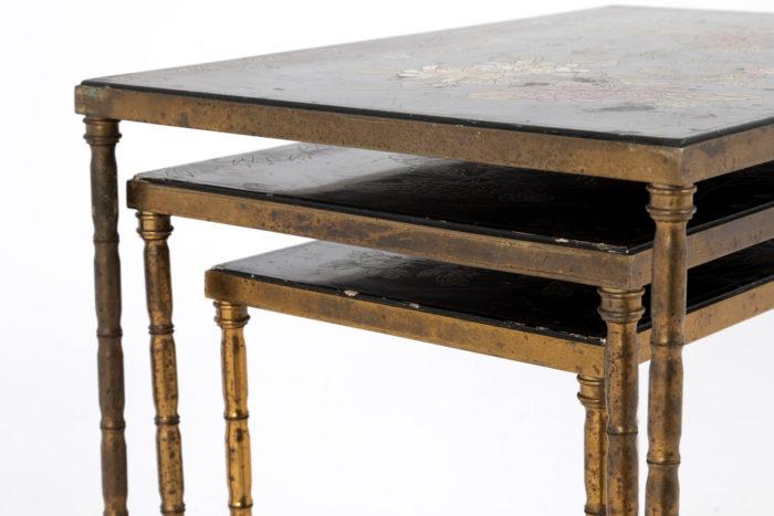 tables gigognes plateaux côté