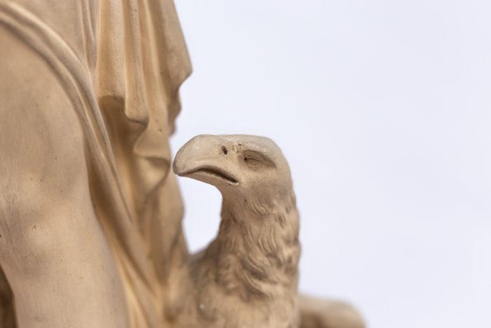 tête aigle nymphe