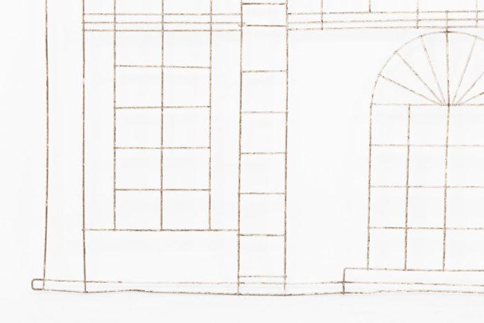 topiaire fenetres côtés facade maison