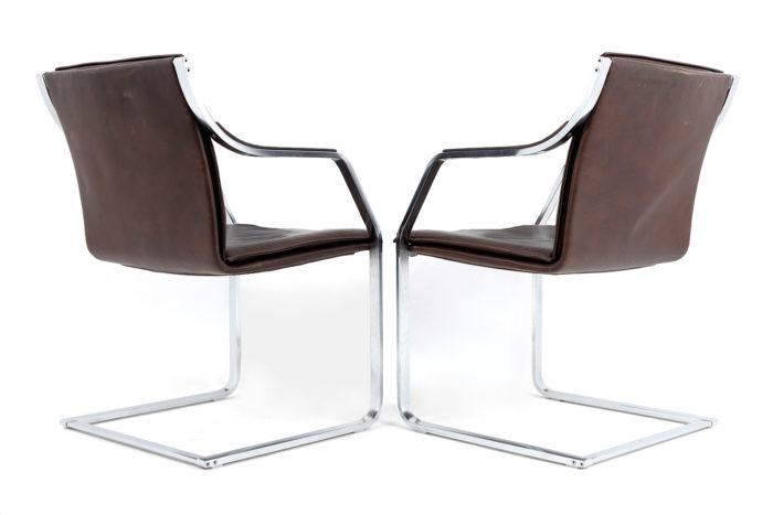 fauteuils cantilever knoll dos