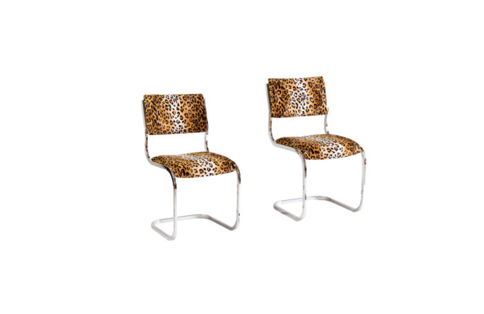 cantilever chairs cheetah fabric prcpl