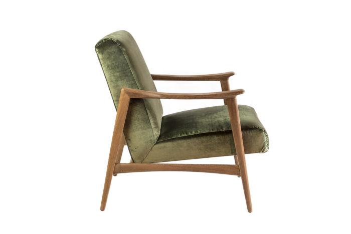 arne hovmand fauteuil côté