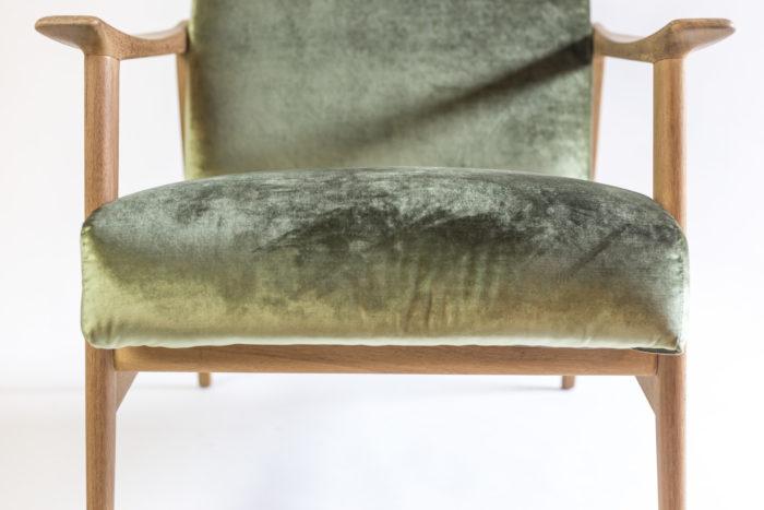arne hovmand fauteuil devant assise