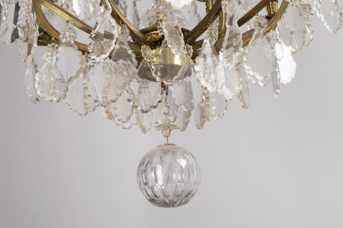 baccarat chandelier crystal ball