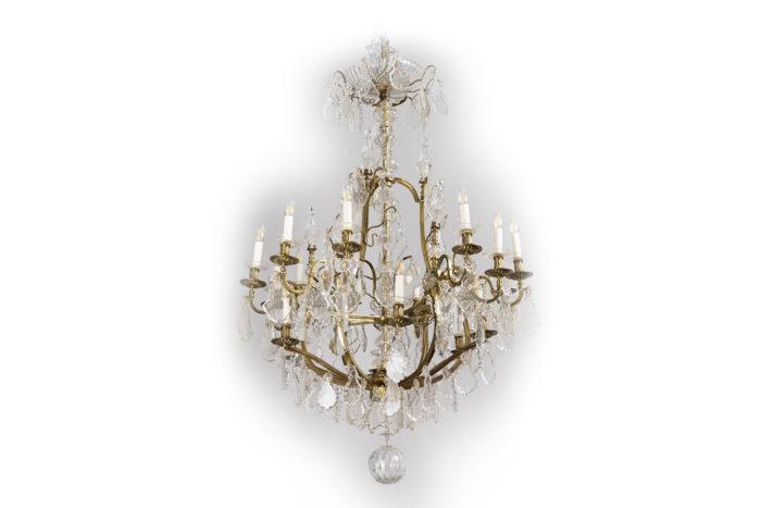 baccarat lustre laiton cristal prcpl