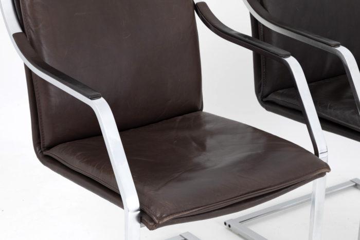 detail assise accotoirs fauteuils knoll glatzel