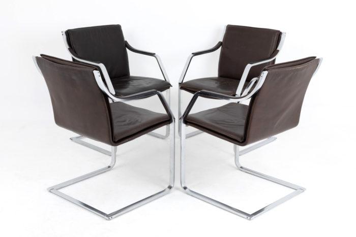 fauteuils cantilever glatzel knoll dos