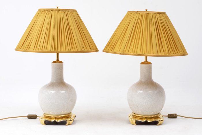 lampes craquelées entier