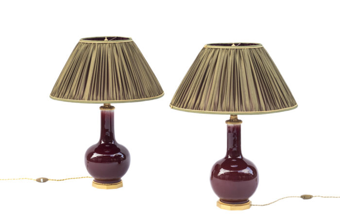 red sang de boeuf lamps prcpl