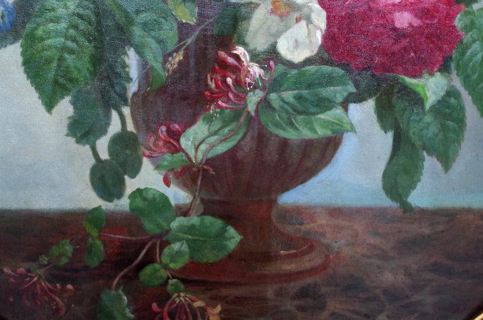 laurenceau toiles fleurs chèvrefeuille