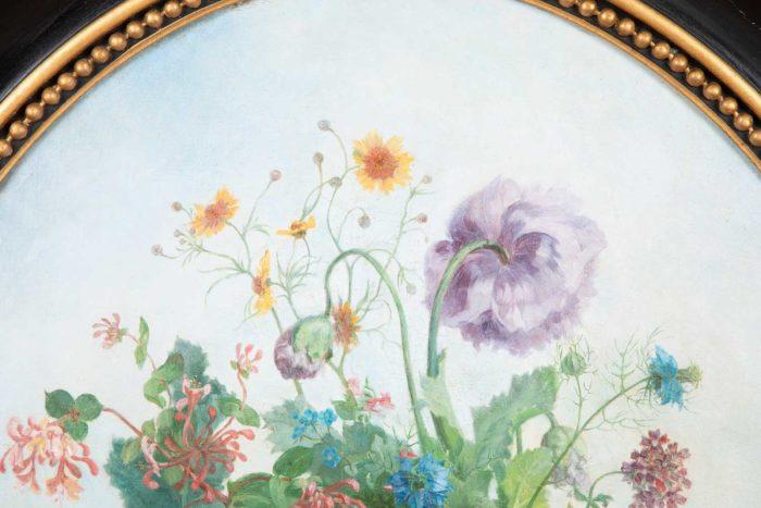 laurenceau toiles fleurs helianthus