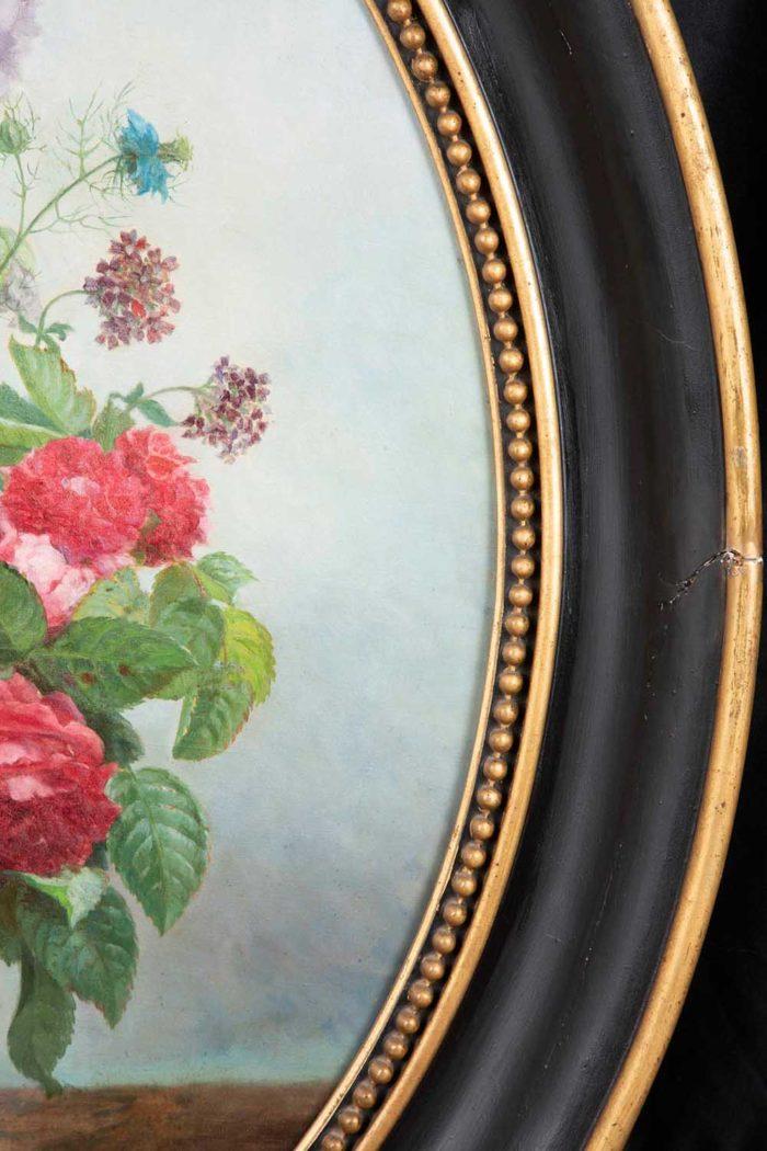 laurenceau toiles fleurs hortensias