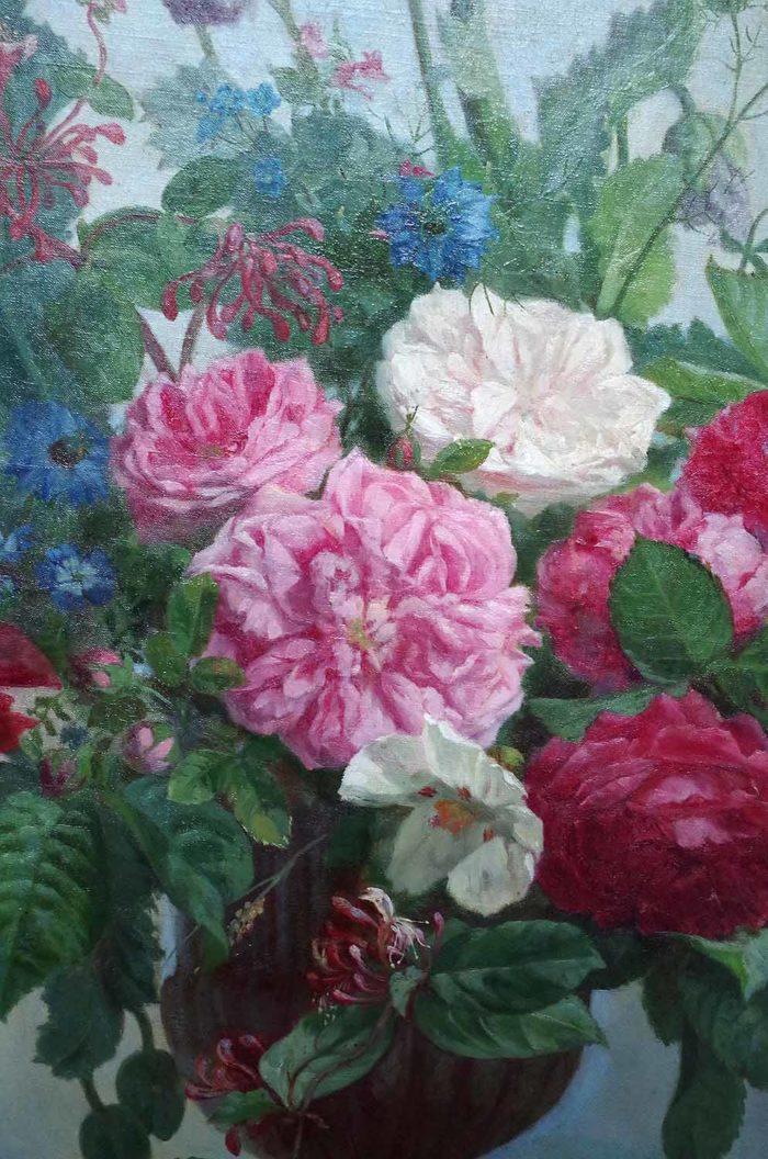 laurenceau toiles fleurs pivoines