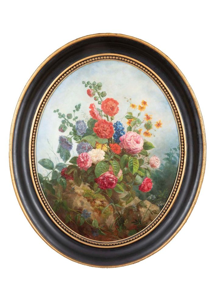 laurenceau toiles fleurs plantées terre