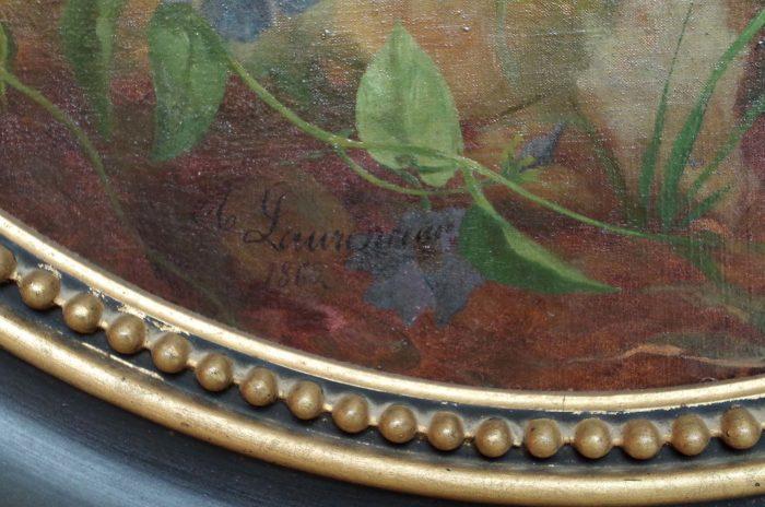 laurenceau toiles fleurs signature 2