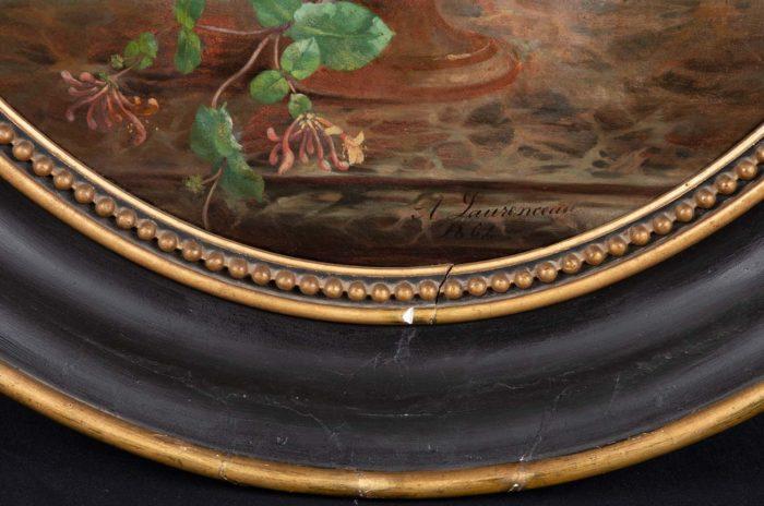 laurenceau toiles fleurs signature