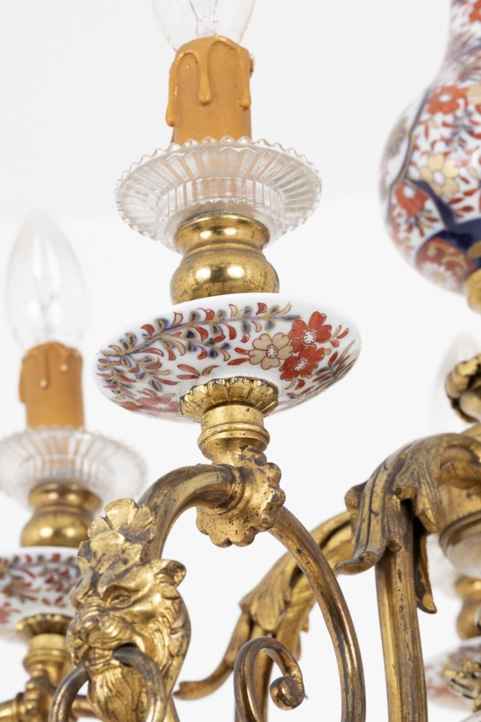 lustre hollandais coupelle imari