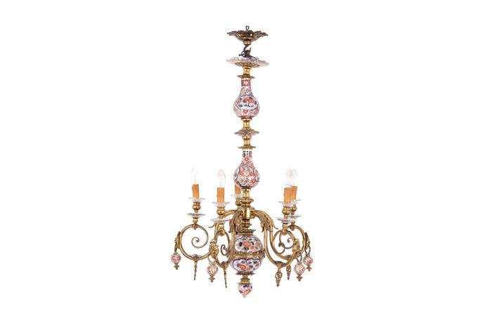 lustre hollandais imari bronze doré prcpl