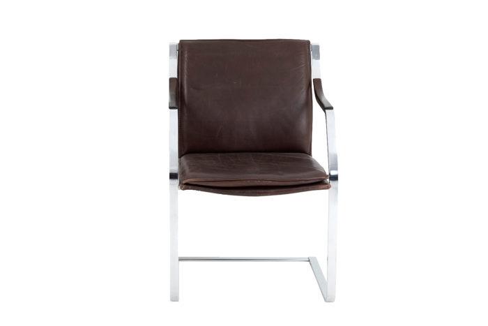 paire fauteuils knoll glatzel face