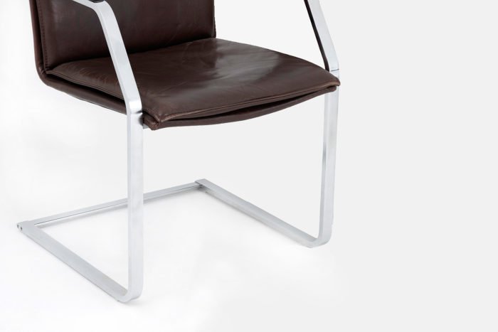 cantilever chairs glatzel knoll metal leg