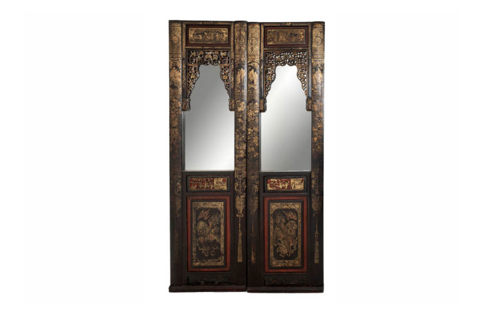 mirror doors chinese lacquer prcpl