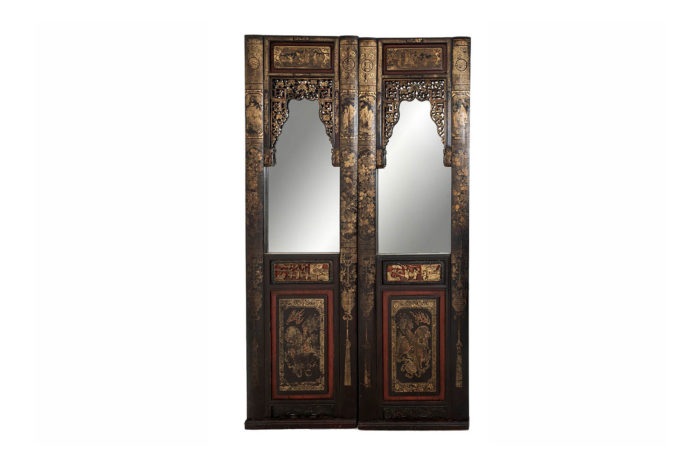portes miroirs laque chinoise prcpl