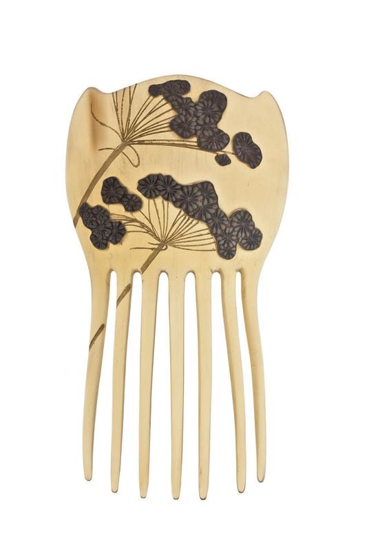 rené lalique peigne aux ombelles chignon 1897-8