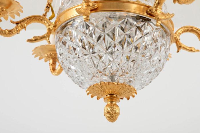 suspension empire cristal amortissement fruit