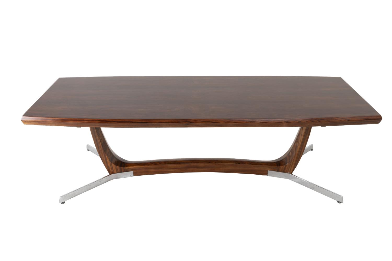 Basse Et Palissandre Danoise Table En MétalAnnées Grande 1970 Tl1JcFK3
