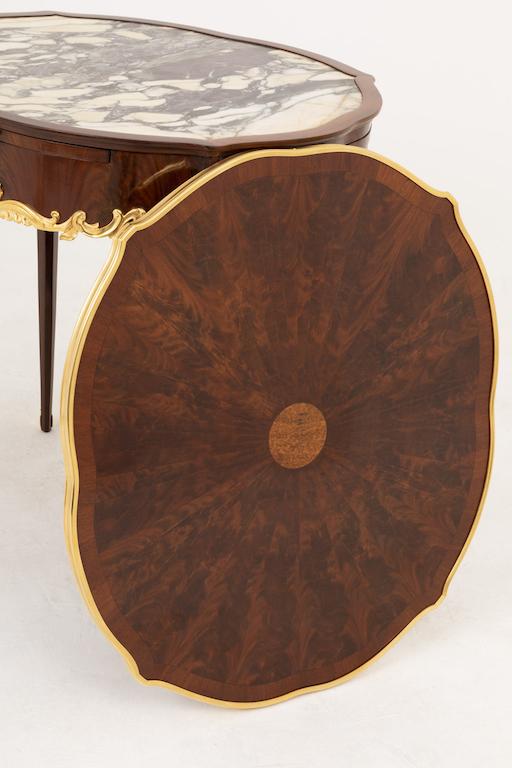 table bouillotte style louis xv bouchon