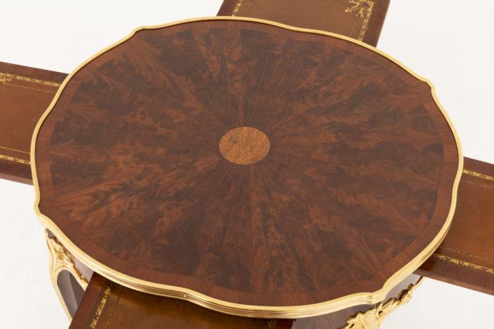 table bouillotte style louis xv haut plateau