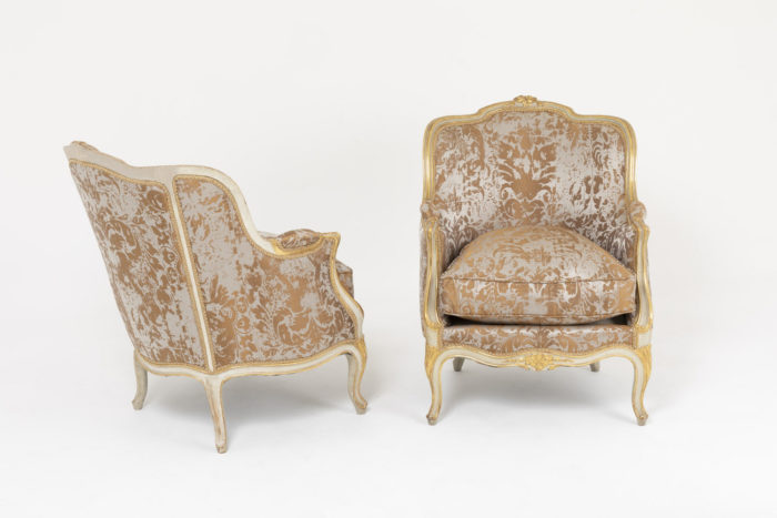 bergeres style louis xv