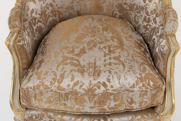 bergeres style louis xv assise