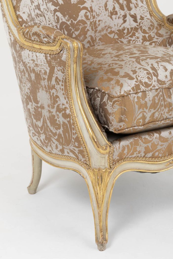 bergeres style louis xv pieds