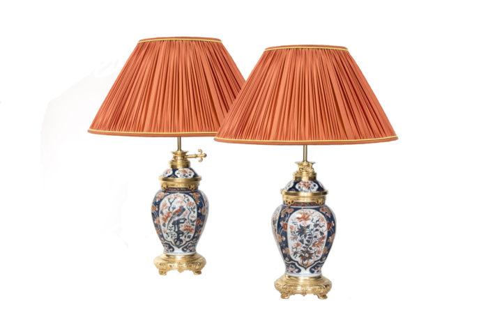 imari porcelain lamps