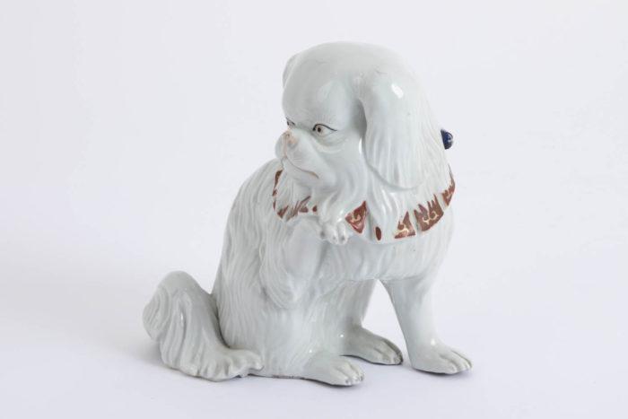 chien porcelaine kutani côté