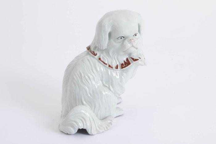 chien porcelaine kutani dos