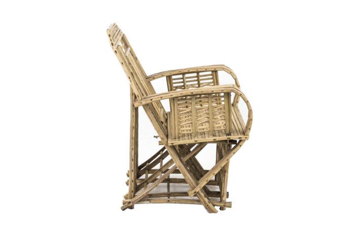 fauteuil ethnique bambou profile