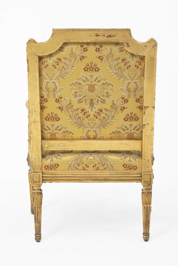 jacob fauteuils style louis xvi dos